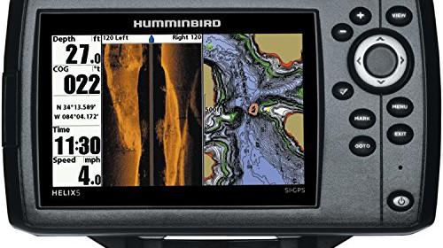 humminbird 409640-1 helix 5 si fish finder with side-imaging and, Fish Finder