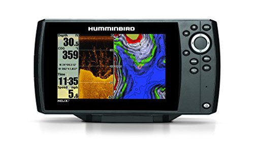 Humminbird 409830 1 helix 7 di gps fishfinder with down for Helix 7 ice fishing