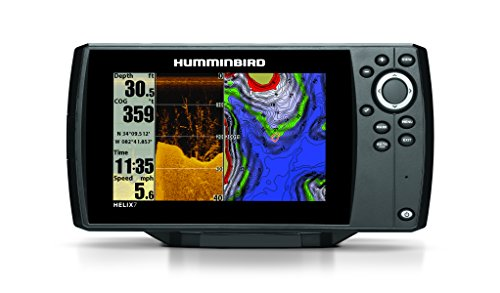 Humminbird 409830 1 helix 7 di gps fishfinder with down for Hummingbird fish finder parts
