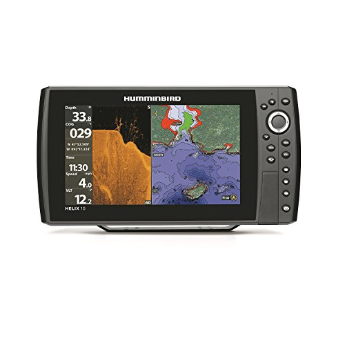 Humminbird 409970 1 helix 10 di gps fishfinder fish for Walmart fish finder