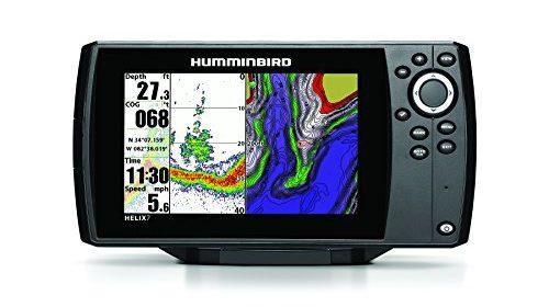 Humminbird 409820 1 helix 7 fishfinder gps with dual beam for Helix 7 ice fishing