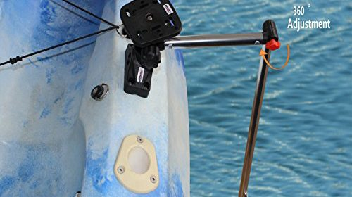 Brocraft transducer arm mount universal fishfinder mount for Garmin ice fishing transducer